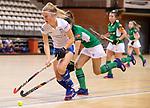 Almere - Zaalhockey Kampong-Push . Gabrielle Mosch (Kampong)  COPYRIGHT KOEN SUYK