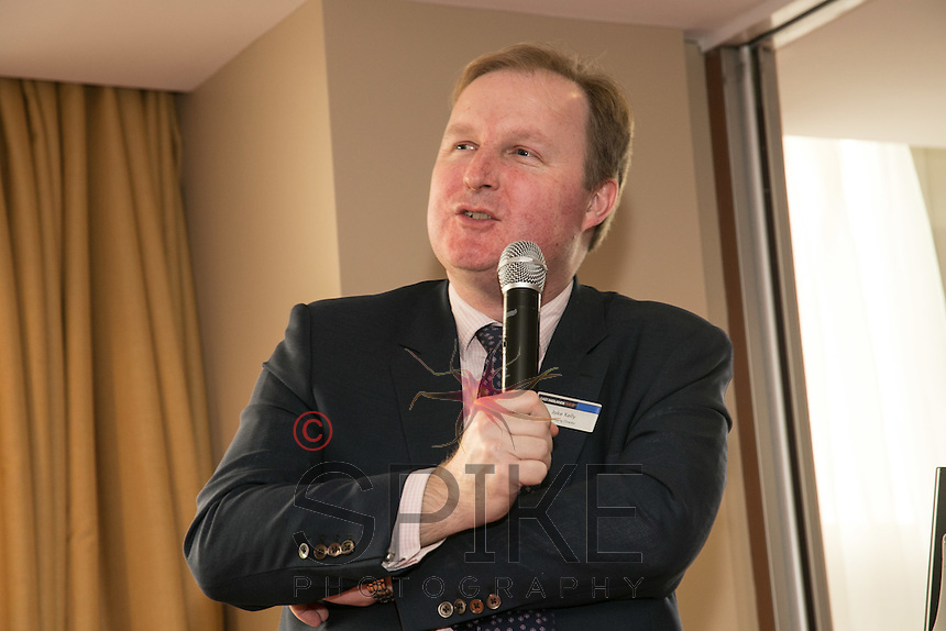 Jake Kelly, MD of East Midlands Trains, speaks to Business Leader at Nottingham City Business Club
