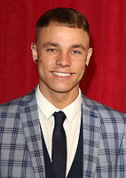 Callum Harrison at The British Soap Awards 2019 arrivals. The Lowry, Media City, Salford, Manchester, UK on June 1st 2019<br /> CAP/ROS<br /> ©ROS/Capital Pictures