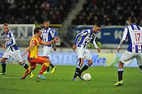 VOETBAL: ABE LENSTRA STADION: HEERENVEEN: 30-11-2013, SC Heerenveen - Go Ahead Eagles, uitslag 3-1, Hakim Ziyech (#22 | SCH), ©foto Martin de Jong