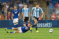 Argentina beats Italy 2-1 during the international friendly between Italy vs Argentina at Stadio Olimpico, in Rome, on August 14, 2013 in Rome. In the photo: . Photo: Adamo Di Loreto/BuenaVista*photo