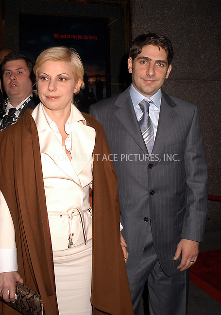 Michael Imperioli at the premiere of 'The Sopranos.' New York, March 2, 2004. Please byline: AJ SOKALNER/ACE Pictures.   ..*PAY-PER-USE*      ....IMPORTANT: Please note that our old trade name, NEW YORK PHOTO PRESS (NYPP), is replaced by new name, ACE PICTURES. New York Photo Press and ACE Pictures are owned by All Celebrity Entertainment, Inc.......All Celebrity Entertainment, Inc:  ..contact: Alecsey Boldeskul (646) 267-6913 ..Philip Vaughan (646) 769-0430..e-mail: info@nyphotopress.com