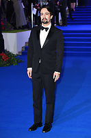 "LONDON, UK. December 12, 2018: Lin-Manuel Miranda at the UK premiere of ""Mary Poppins Returns"" at the Royal Albert Hall, London.<br /> Picture: Steve Vas/Featureflash"
