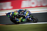 VALENTINO ROSSI - ITALIAN - MOVISTAR YAMAHA MotoGP - YAMAHA<br /> Valencia 10-11-2017 Moto Gp Spagna<br /> Foto Vincent Guignet / Panoramic / Insidefoto
