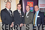 Pictured at the AIB Buiness Breakfast at the Ballygarry house hotel on Thursday were Diarmuid Leen, Head of Business banking AIB, Diarmuid Hendrick, BDO Accountants, Bart Keane, CFO Altobridge and Denis Herlihy BDO Accountants.