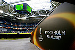 A general view ahead of the UEFA Europa League Final at the Friends Arena, Stockholm. Picture date: May 23rd, 2017. Pic credit should read: Matt McNulty/Sportimage