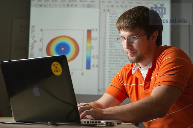 Jul. 11, 2012; College of Science undergraduate research..Photo by Matt Cashore/University of Notre Dame