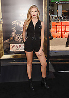 HOLLYWOOD, CA - AUGUST 07: Actress Courtney Miller attends the premiere of New Line Cinema's 'Annabelle: Creation' at TCL Chinese Theatre IMAX on August 07, 2017 in Los Angeles, California.<br /> CAP/ROT/TM<br /> &copy;TM/ROT/Capital Pictures