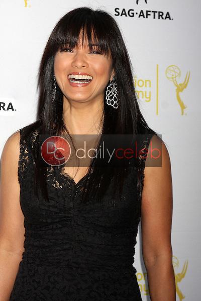 Kelly Hu<br /> at the Dynamic &amp; Diverse:  A 66th Emmy Awards Celebration of Diversity Event, Television Academy, North Hollywood, CA 11-12-14<br /> David Edwards/DailyCeleb.com 818-249-4998