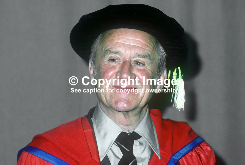 Cyril Cusack, actor, stage, screen, television, Irish, born Natal, South Africa, where his father was a member of the local mounted police. Recipient of honorary degree, New University of Ulster, Coleraine, N Ireland. 19820700093CC2..Copyright Image from Victor Patterson, 54 Dorchester Park, Belfast, UK, BT9 6RJ.  Tel: +44 28 90661296  Mobile: +44 7802 353836.Email: victorpatterson@me.com Email: victorpatterson@gmail.com..For my Terms and Conditions of Use go to http://www.victorpatterson.com/ and click on Terms & Conditions