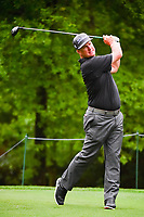 Charley Hoffman (USA) watches his tee shot on 2 during round 4 of the Shell Houston Open, Golf Club of Houston, Houston, Texas, USA. 4/2/2017.<br /> Picture: Golffile | Ken Murray<br /> <br /> <br /> All photo usage must carry mandatory copyright credit (&copy; Golffile | Ken Murray)