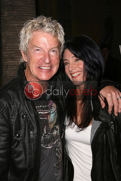 Kevin Cronin and wife Lisa<br />at the Los Angeles Premiere of 'Anvil! The Story of Anvil'. The Egyptian Theatre, Hollywood, CA. 04-07-09<br />Dave Edwards/DailyCeleb.com 818-249-4998