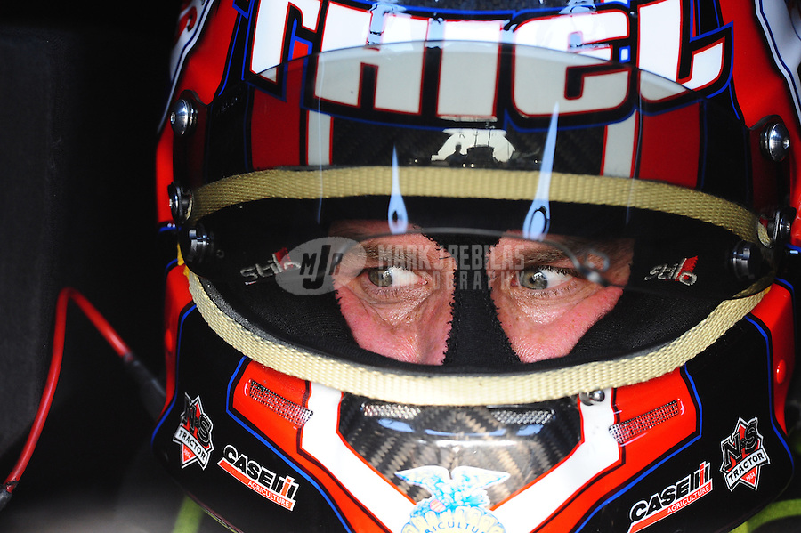 Apr. 29, 2011; Baytown, TX, USA: NHRA funny car driver Brian Thiel during qualifying for the Spring Nationals at Royal Purple Raceway. Mandatory Credit: Mark J. Rebilas-