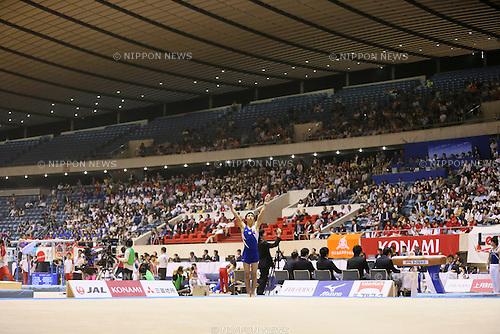 Kenzo Shirai, MAY 11, 2014 - Artistic Gymnastics : The 68th All Japan Gymnastics Championship Men's Individual All-Around Floor at 1st Yoyogi Gymnasium, Tokyo, Japan. (Photo by Yohei Osada/AFLO SPORT)