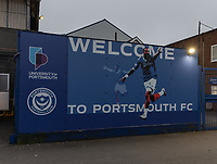 Portsmouth FC - Fratton Park - Ground view<br /> <br /> Photographer David Horton/CameraSport<br /> <br /> The EFL Sky Bet League One - Portsmouth v Fleetwood Town - Tuesday 10th March 2020 - Fratton Park - Portsmouth<br /> <br /> World Copyright © 2020 CameraSport. All rights reserved. 43 Linden Ave. Countesthorpe. Leicester. England. LE8 5PG - Tel: +44 (0) 116 277 4147 - admin@camerasport.com - www.camerasport.com