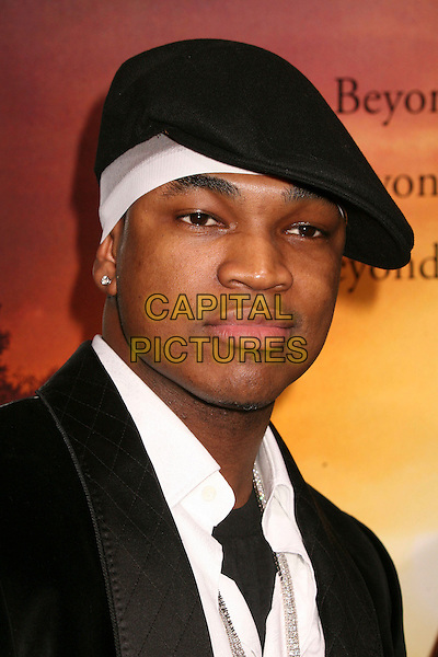 "NE-YO.""Stomp The Yard"" Los Angeles Premiere at Arclight Cinemas, Hollywood, California, USA, 8 January 2007..portrait headshot black flat cap hat.CAP/ADM/BP.©Byron Purvis/AdMedia/Capital Pictures."