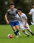 1st XI football, Mt Albert Grammar v St Kentigern College, Mt Albert Grammar, Auckland New Zealand, Saturday 1st July 2017. Photo: Simon Watts/www.bwmedia.co.nz