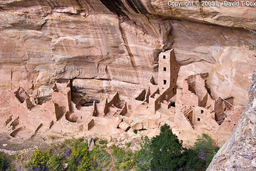 Mesa Verde, Square Tower House ruins, Anasazi 13thC, CO