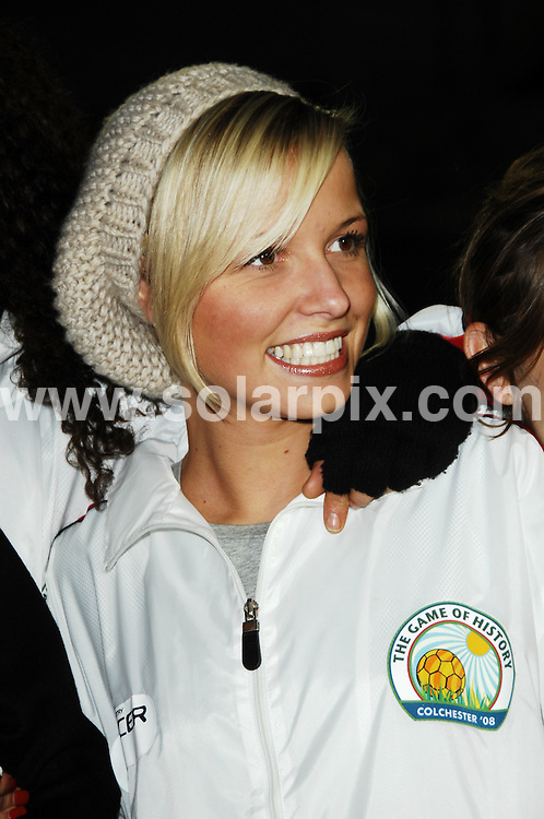 **ALL ROUND PICTURES FROM SOLARPIX.COM**.**WORLDWIDE SYNDICATION RIGHTS**.Celebrities v The Army football match at the Colchester FC stadium raising funds and awareness for the Army Benevolent Fund, the British Legion and Help for Heroes. Colchester, UK. 2nd November 2008..This pic: Guest..JOB REF: 7782  FMF      DATE: 02_11_2008.**MUST CREDIT SOLARPIX.COM OR DOUBLE FEE WILL BE CHARGED* *UNDER NO CIRCUMSTANCES IS THIS IMAGE TO BE REPRODUCED FOR ANY ONLINE EDITION WITHOUT PRIOR PERMISSION*