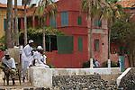 Africa, Afrika, Senegal, 17-09-2011, Dakar, Dakkar, Voor de kust van Dakar ligt het voormalige slaveneiland Isle de Goré. ( Goeree, uit het Nederlands) Tijdens de slavenhandel geregeerd door Nederlanders, en later over genomen door de Fransen.. Ook dit eiland staat op de UNESCO wereld erfgoed lijst. . foto: michael Kooren/HH