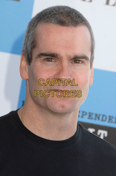 HENRY ROLLINS.The 2007 Independent Spirit Awards held at the Santa Monica Pier, Santa Monica, California, USA..February 24th, 2007.headshot portrait.CAP/ADM/GB.©Gary Boas/AdMedia/Capital Pictures