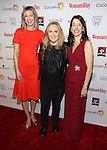 Susan Spencer, Melissa Etheridge and Kassie Means attends the 14th Annual Red Dress Awards presented by Woman's Day Magazine at Jazz at Lincoln Center Appel Room on February 7, 2017 in New York City.