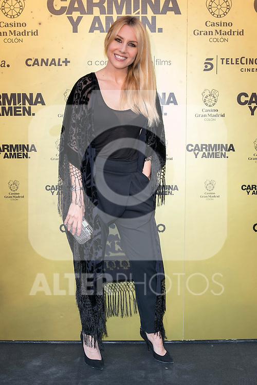 "Berta Collado  attend the Premiere of the movie ""Carmina y Amen"" at the Callao Cinema in Madrid, Spain. April 28, 2014. (ALTERPHOTOS/Carlos Dafonte)"