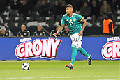 27th March 2018, Olympiastadion, Berlin, Germany; International Football Friendly, Germany versus Brazil; Jérome Boateng  (Germany) in action