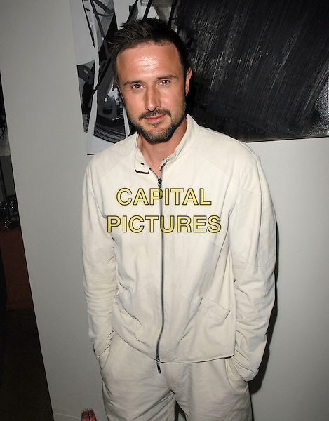 """DAVID ARQUETTE.attends The Larry Sanders Show Wrap Party and DVD Launch Party for """"Not Just the Best of Larry Sanders Show DVD"""" held at The Regent Beverly Wilshire in Beverly Hills, California, USA,  April 10th 2007..half length cream white jacket.CAP/DVS.©Debbie VanStory/Capital Pictures"""