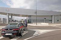 CERIMONIA DI APERTURA DEL NUOVO COMANDO  JFC NATO DI LAGO PATRIA .NELLA FOTO L'INGRESSO DELLA BASE.FOTO CIRO DE LUCA....OPENING CEREMONY OF THE NEW JFC NAPLES HQ