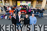 Rally Launch: Tralee based Kerry Motor Club  launch the up coming Fels Point Hotel sponsored Circuit of Kerry rally on Sunday at the hotel. The event takes place on Pictured Laura Reidy ,Operations  Manager at Fels Point Hotel, Tralee mayor Jim Finucane, clerk of the course Tom Barrett, Circuit of Kerry, John O'Keeffe, Advanced Cleaning Services with members of  Kerry Motor Club