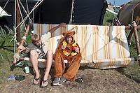 German hammock and a teddybear