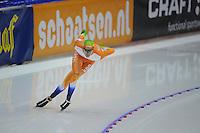 SCHAATSEN: HEERENVEEN: IJsstadion Thialf, 10-11-2012, KPN NK afstanden, Seizoen 2012-2013, 1500m Heren, Thomas Krol, ©foto Martin de Jong