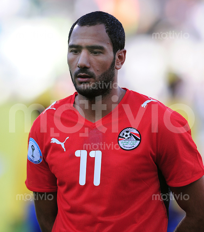 Fussball  International FIFA Confederations Cup 2009 Brasilien - Aegypten Mohammed Shawky (EGY)