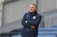 Blackburn Rovers' Manager Tony Mowbray Shouts to his team during the game<br /> <br /> Photographer Dave Howarth/CameraSport<br /> <br /> The EFL Sky Bet Championship - Blackburn Rovers v Reading - Saturday 18th July 2020 - Ewood Park - Blackburn<br /> <br /> World Copyright © 2020 CameraSport. All rights reserved. 43 Linden Ave. Countesthorpe. Leicester. England. LE8 5PG - Tel: +44 (0) 116 277 4147 - admin@camerasport.com - www.camerasport.com