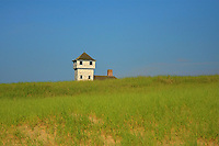 A view of the old harbor lifesaving station in Provincetown Cape Cod  Ma.