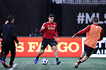 ATLANTA, GA - DECEMBER 07: Atlanta United FC's Brandon Vazquez. The MLS Cup 2018 Team Training Sessions were held on December 7, 2018 at the Mercedes Benz Stadium in Atlanta, GA.