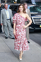 AUG 15 Jessica Biel at The Late Show