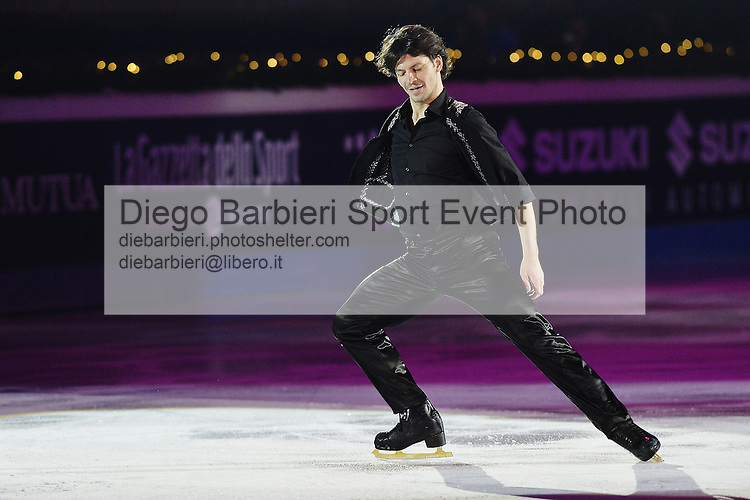 21 dicembre 2014 - TORINO - ITALIA: Si svolge il consueto Golden Skate Awards al Palavela di Torino, quest'anno come gala conclusivo dei Campionati Italiani di Pattinaggio di figura senior.<br />