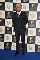 Kieron Richardson<br /> arriving for the RTS Awards 2019 at the Grosvenor House Hotel, London<br /> <br /> ©Ash Knotek  D3489  19/03/2019