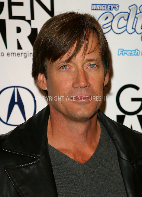 "Kevin Sorbo attends the premiere of ""Kiss the Bride"" during the 8th Annual Gen Art Film Festival. New York, April 2, 2003. Please byline: Alecsey Boldeskul/NY Photo Press.   ..*PAY-PER-USE*      ....NY Photo Press:  ..phone (646) 267-6913;   ..e-mail: info@nyphotopress.com"