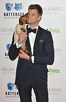Jim Chapman at the Battersea Dogs &amp; Cats Home Collars &amp; Coats Gala Ball 2018, Battersea Evolution, Battersea Park, London, England, UK, on Thursday 01 November 2018.<br /> CAP/CAN<br /> &copy;CAN/Capital Pictures