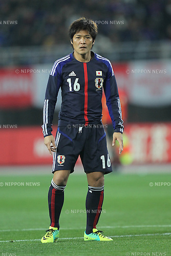 Yoshito Okubo (JPN), FEBRUARY 24, 2012 - Football / Soccer : KIRIN Challenge Cup 2012 mach between Japan 3-1 Iceland at Nagai Stadium in Osaka, Japan. (Photo by Akihiro Sugimoto/AFLO SPORT) [1080]