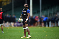 Niko Matawalu of Bath Rugby looks on. Bath Rugby Captain's Run on October 30, 2015 at the Recreation Ground in Bath, England. Photo by: Patrick Khachfe / Onside Images