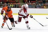 Mark Magnowski (Princeton - 14), David Valek (Harvard - 22) - The Princeton University Tigers defeated the Harvard University Crimson 2-1 on Friday, January 29, 2010, at Bright Hockey Center in Cambridge, Massachusetts.