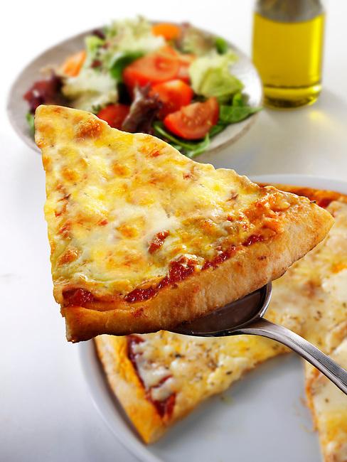 Italian cheese Pizza - margarita photo. Funky Stock pizzas photos