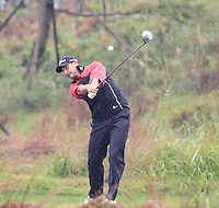 David Howell (ENG) tees off the 3rd tee during Thursday's Round 1 of the 2014 BMW Masters held at Lake Malaren, Shanghai, China 30th October 2014.<br /> Picture: Eoin Clarke www.golffile.ie
