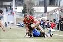 Michael Leitch (TOSHIBA), FEBRUARY 5, 2012 - Rugby : Japan Rugby Top League 2011-2012 match between TOSHIBA Brave Lupus 59-25 Panasonic Wild Knights at Chichibunomiya Rugby Stadium, in Tokyo, Japan. (Photo by Yusuke Nakanishi/AFLO SPORT) [1090]