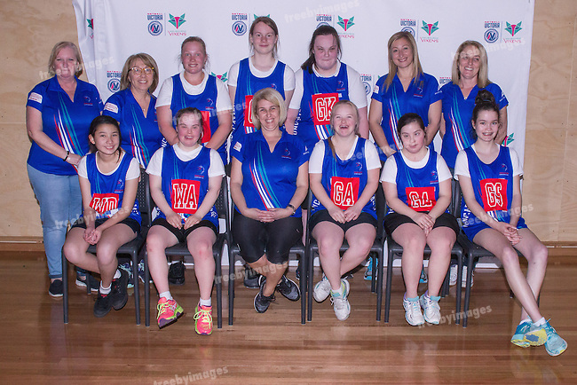 AAA Doncaster <br /> Netball Victoria State Titles 2016 <br /> Sunday 9th October<br /> Photo: Mark Witte/Treeby Images