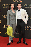 Hannah James, Andrew Scott<br /> The Olivier Awards 2018 , arrivals at The Royal Albert Hall, London, UK -on April 08, 2018.<br /> CAP/PL<br /> &copy;Phil Loftus/Capital Pictures